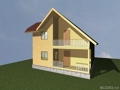 Дома из бруса с балконом, сравнить цены в новосибирске - на .