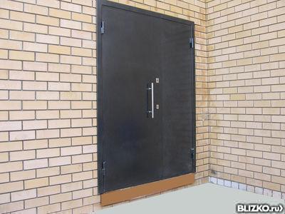 сколько стоит металлическая дверь для хозблока
