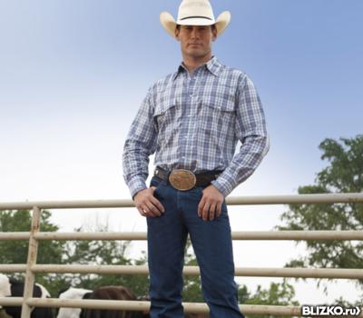 Джинсы мужские/Wrangler® Cowboy Cut® Original/100%хлопок.